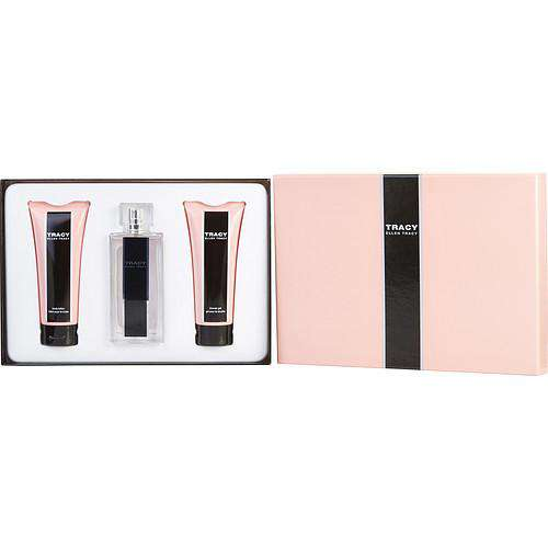 Tracy By Ellen Tracy Eau De Parfum Spray 2.5 Oz (new Bottle Design) & Body Lotion 3.4 Oz & Shower Gel 3.4 Oz