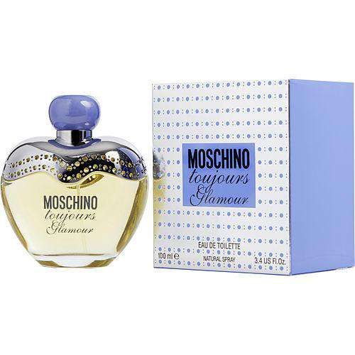 Moschino Toujours Glamour By Moschino Edt Spray 3.4 Oz
