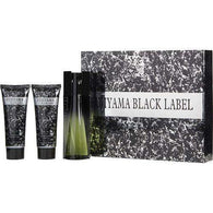 Fujiyama Black Label By Succes De Paris Edt Spray 3.3 Oz & Aftershave Balm 3.3 Oz & Shower Gel 3.3 Oz