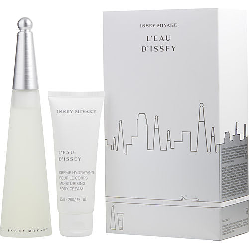 L'eau D'issey By Issey Miyake Edt Spray 3.3 Oz & Body Cream 2.6 Oz (travel Offer)