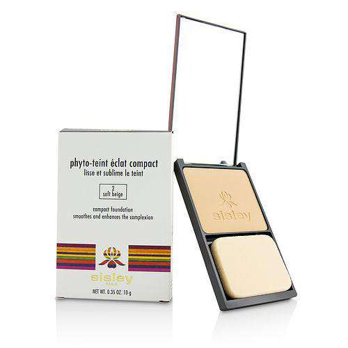 Sisley By Sisley Phyto Teint Eclat Compact Foundation - # 2 Soft Beige --10g-0.35oz