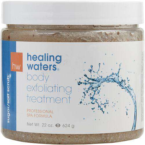 Healing Waters By Aromafloria Sugar-salt Scrub - Exfoliating Treatment 22 Oz