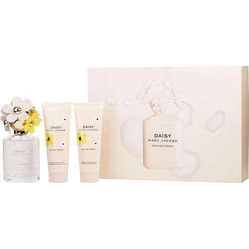 Marc Jacobs Daisy Eau So Fresh By Marc Jacobs Edt Spray 2.5 Oz & Body Lotion 2.5 Oz & Shower Gel 2.5 Oz