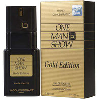 One Man Show Gold By Jacques Bogart Edt Spray 3.3 Oz