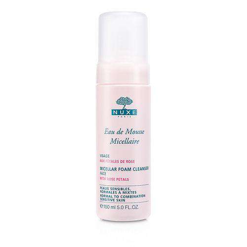 Nuxe By Nuxe Micellar Foam Cleanser With Rose Petals (normal To Combination, Sensitive Skin) --150ml-5oz