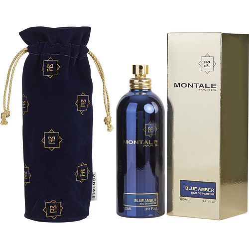 Montale Paris Blue Amber By Montale Eau De Parfum Spray 3.4 Oz