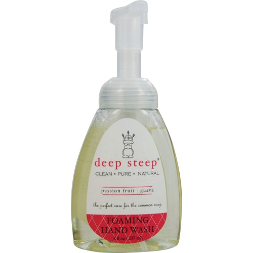 Deep Steep By Deep Steep Passionfruit-guava Organic Foaming Hand Wash 8 Oz