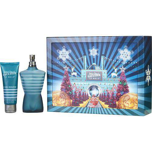 Jean Paul Gaultier By Jean Paul Gaultier Edt Spray 4.2 Oz & All Over Shower Gel 2.5 Oz