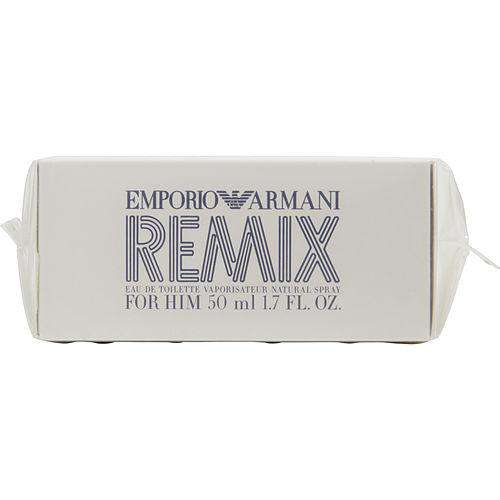 Emporio Armani Remix By Giorgio Armani Edt Spray 1.7 Oz *tester