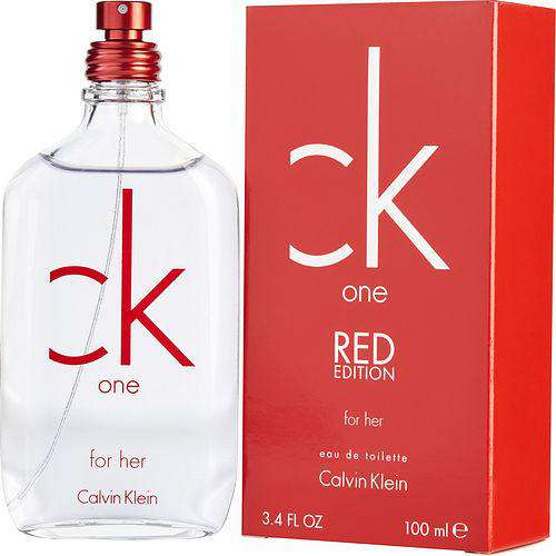 Ck One Red Edition Edt Spray Women (limited Edition)