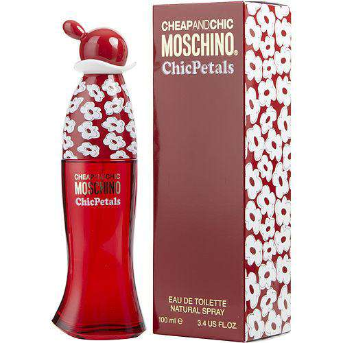 Moschino Cheap & Chic Petals By Moschino Edt Spray 3.4 Oz