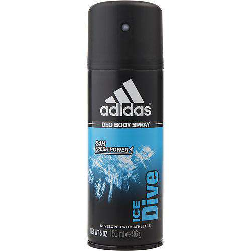 Adidas Ice Dive 24h Deodorant Body Spray 5 Oz (developed With Athletes)