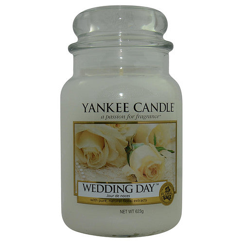 Yankee Candle By Yankee Candle Wedding Day Scented Large Jar 22 Oz