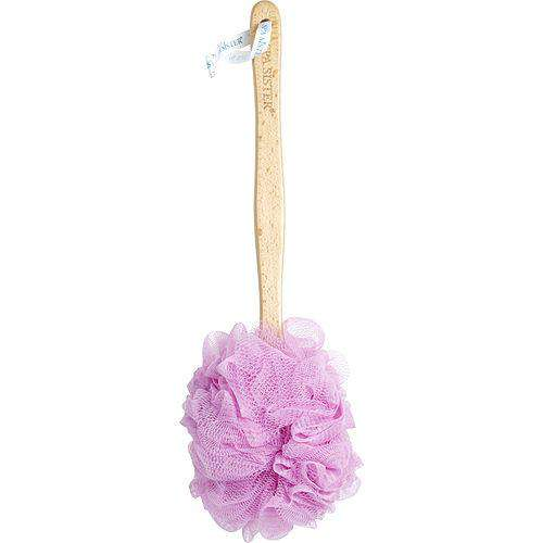 Spa Accessories By Spa Accessories Net Sponge Stick (beech Wood) - Pink -