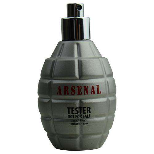 Arsenal Grey By Gilles Cantuel Eau De Parfum Spray 3.4 Oz *tester