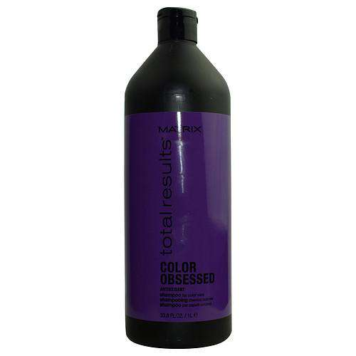 Total Results By Matrix Color Obsessed Antioxidant Shampoo 33.8 Oz