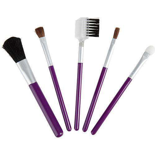 Exceptional-because You Are By Exceptional Parfums Set-5 Piece Travel Makeup Brush Set