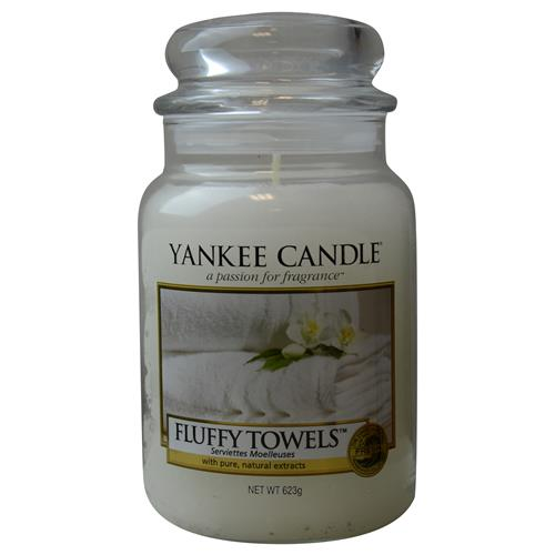 Yankee Candle By Yankee Candle Fluffy Towels Scented Large Jar 22 Oz