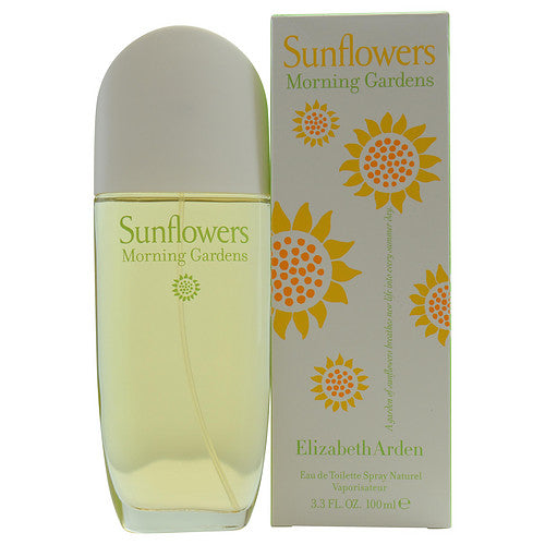 Sunflowers Morning Gardens By Elizabeth Arden Edt Spray 3.3 Oz