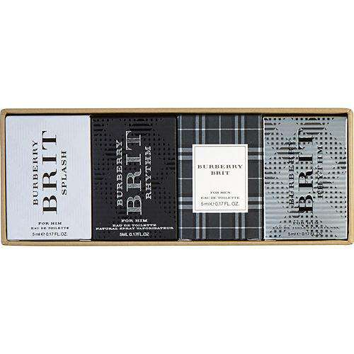 Burberry Variety 4 Piece Mens Variety