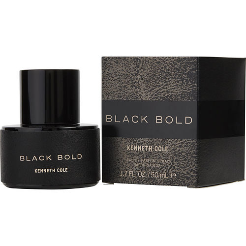 Kenneth Cole Black Bold By Kenneth Cole Eau De Parfum Spray 1.7 Oz