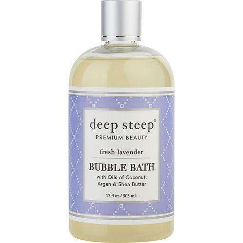 Deep Steep By Deep Steep Fresh Lavender Bubble Bath 17 Oz