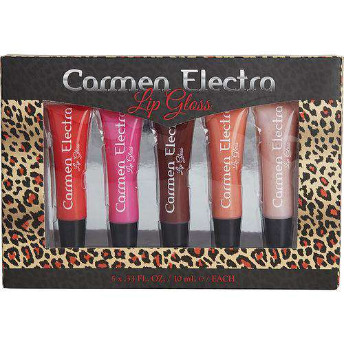 Carmen Electra By Carmen Electra 5pc Lip Gloss Set- 0.33oz-10ml Each
