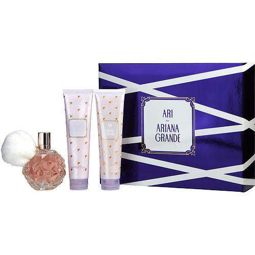 Ari By Ariana Grande By Ariana Grande Eau De Parfum Spray 3.4 Oz & Body Lotion 3.4 Oz & Bath And Shower Gel 3.4 Oz