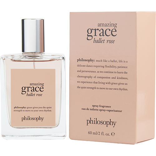 Philosophy Amazing Grace Ballet Rose By Philosophy Edt Spray 2 Oz