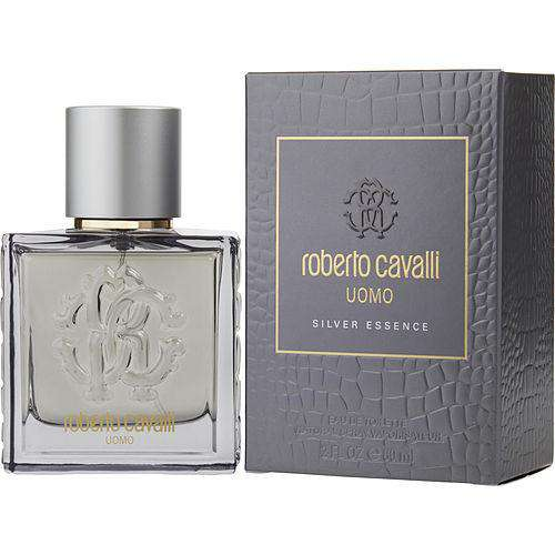 Roberto Cavalli Uomo Silver Essence By Roberto Cavalli Edt Spray 2 Oz