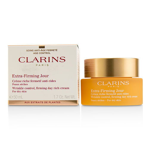 Clarins By Clarins Extra-firming Jour Wrinkle Control, Firming Day Rich Cream - For Dry Skin --50ml-1.7oz