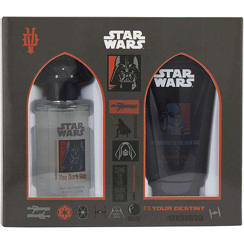 Star Wars Darth Vader By Marmol & Son Edt Spray 1.7 Oz & Shower Gel 2.5 Oz
