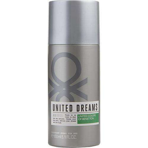 Benetton United Dreams Aim High By Benetton Deodorant Spray 5.1 Oz