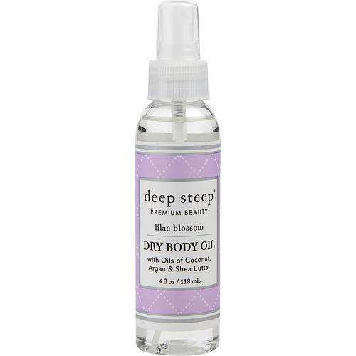Deep Steep By Deep Steep Lilac Blossom Dry Body Oil 4 Oz