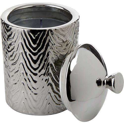 Thompson Ferrier By Thompson Ferrier White Tea & Mint Zebra Textured Scented Candle 17.6 Oz