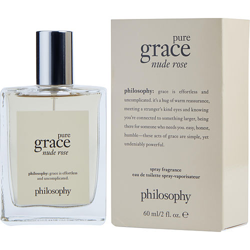 Philosophy Pure Grace Nude Rose By Philosophy Edt Spray 2 Oz