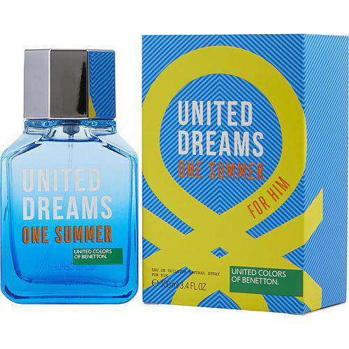 Benetton United Dreams One Summer By Benetton Edt Spray 3.4 Oz (edition 2018)