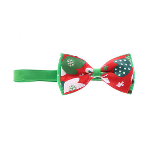 1PC Christmas Holiday Pet Cat Dog Collar Bow Tie