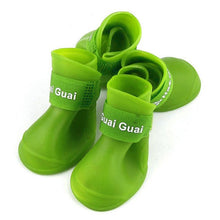 Load image into Gallery viewer, 4pcs/set S-XXL silicone pet Dog Shoes Dog Candy