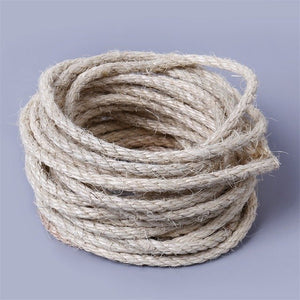 5M Natural Sisal Ropes of 4/6/8mm Diameter for