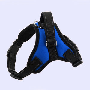 Adjustable Nylon No Pull Dog Harness Vest For Big Dog Harness Large Dog Leash XL Medium Pet Supplies Vest Pet Collar Accessories