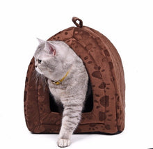 Load image into Gallery viewer, Cat Bed Small Dog House Summer Soft Puppy Kennel