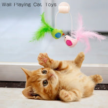 Load image into Gallery viewer, Cat Bird Interative Playing Toy Teaser Wand Sucker