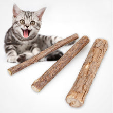 Load image into Gallery viewer, Cat Snacks Toothpaste Cleansing Wooden Day