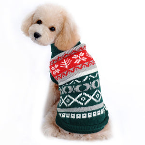 Christmas Cat Clothes Sweater Pet Puppy Knitted