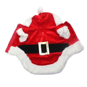 Christmas Dog Clothes Santa Costume Pet Dog Cat