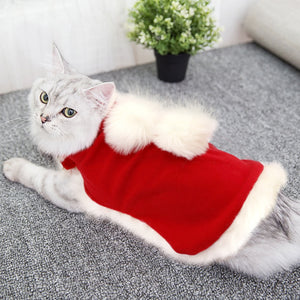 Christmas Dog Clothes Santa Pet Dog Cat Costume