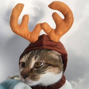 Christmas Dog Hats for Pets Cat Animal Hats Funny