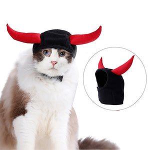 Christmas Halloween Pet Costume Puppy Dog Cats Hat