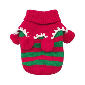 Christmas Pet Clothes For Small Dog  Sweater